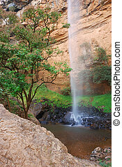 Bridal veil waterfall, South Africa