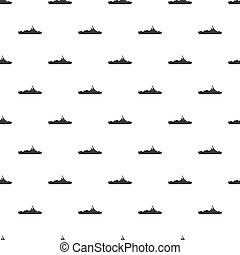 Military navy ship pattern, simple style - Military navy...