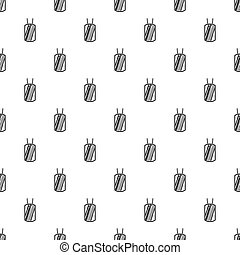 Identification army badge pattern, simple style -...