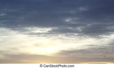 Simple Morning Sky Timelapse - Specifications: Full HD...