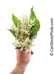 lily of valley as very nice natural backgrouns