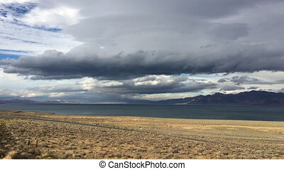 Pyramid Lake Road 446 to Nixon Nevada - Road 446 near...