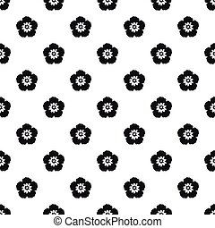 Rose of Sharon pattern, simple style - Rose of Sharon...
