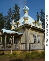 Valaam Russia Church