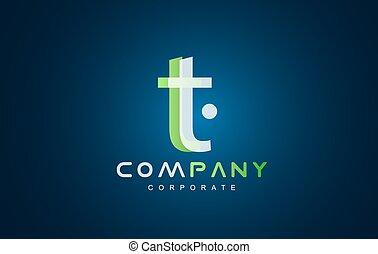 Alphabet small letter t logo - Alphabet letter t vector logo...