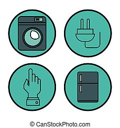internet of things icons