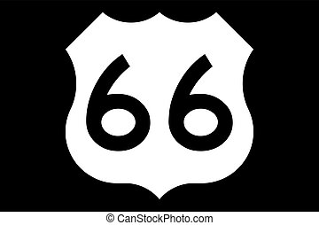 U.S. Route 66 (US 66 or Route 66), also known as the Will...