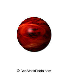 Red Fire Sphere