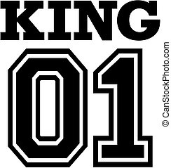 King 01 for T-shirt