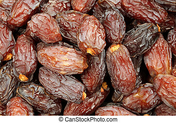 dried dates for sale in the African market - dried dates for...