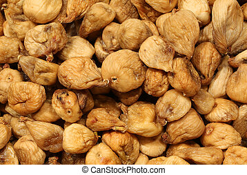 dried figs for sale in the stand of typical products - dried...