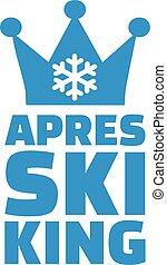 Apres ski king