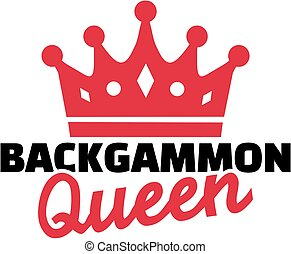 Backgammon queen
