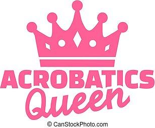 Acrobatics queen
