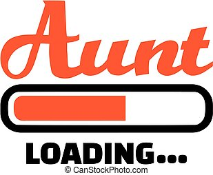Aunt loading download bar