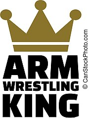Arm wrestling king