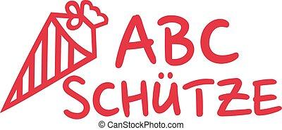 School starter - german