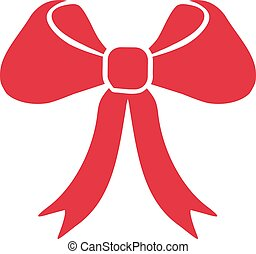 Big red bow