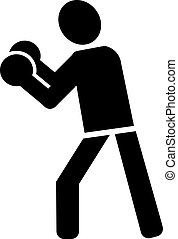 Boxer Pictogram