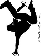Breakdance man