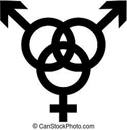 Bisexual - man, woman, man