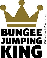 Bungee jumping king