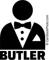 Butler pictogram