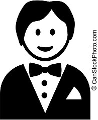 Smiling Butler icon