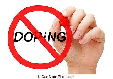 doping, concepto, prohibición, señal