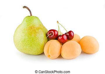 pear cherry Apricot