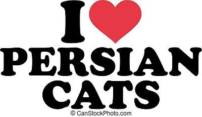 I love persian cats