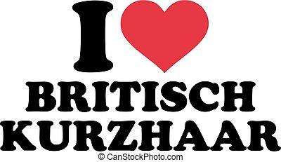 I love British Shorthair german
