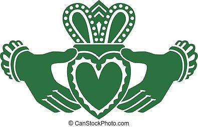 Celtic claddagh