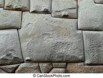 12 sided Inca Hatunrumiyoc stone - Famous twelve sided Inca...