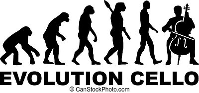 Evolution Cello player