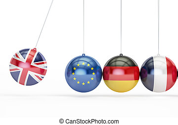 Great Britain, EU, Germany, France political relation...