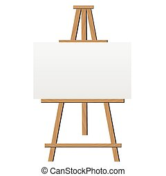 Easel Illustration - Easel illustration