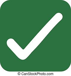 Green checkbox