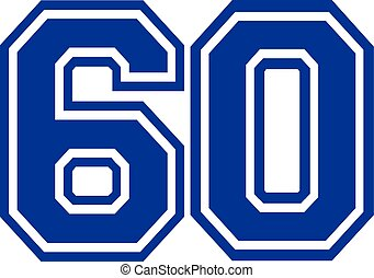 Sixty college number 60