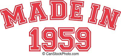 Made in 1959
