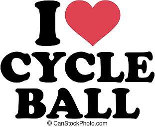 I love cycle ball
