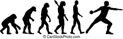 Discus thrower evolution