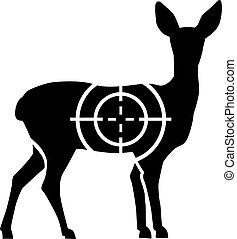 cerf, chevreuil, chasse