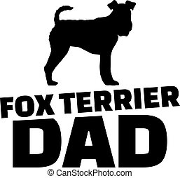 Fox Terrier dad