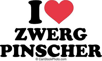 I love miniature pinscher german