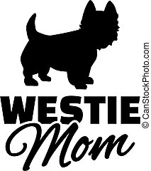 West Highland Terrier Mom