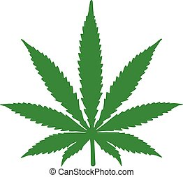 Hemp leaf icon dope