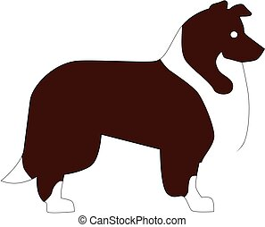Collie pictogram