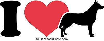 I love Husky icon