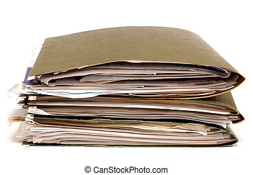 Files - Stack of office folders